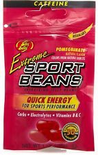 EXTREME POMEGRANATE SPORT BEANS Candy ~ Energizing ~ JELLY BELLY FRESH ~ 3 PACK