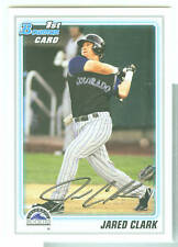 Jared Clark Colorado 2010 Bowman Prospects Card