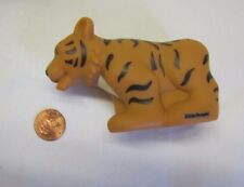 New Fisher Price Little People SAFARI ORANGE TIGER ZOO Noah's ARK No Sound