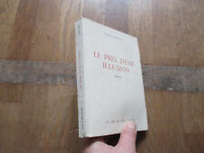 FRANCOIS ZABATTA le prix d une illusion la nef de paris 1962 non coupe