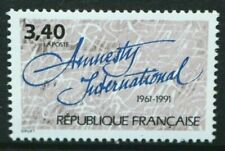 FRANCE 1991 30th Anniversary of Amnesty International. Set of 1. MNH. SG3047.