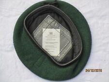 Beret Wool Knitted AGC Green,Adjutant Generals Corps,Barett grün,Gr.50 ,#SG