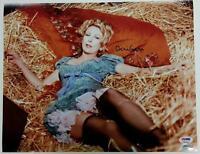 TERI GARR Signed 11x14 Photo #7 YOUNG FRANKENSTEIN Roll in Ze Hay w/ PSA/DNA COA