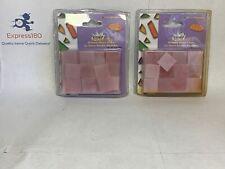 (Cu) Jennifers Mosaics 3/4� Venetian Glass Mosaic Tile Light Pink .5 Oz Ea. Pack