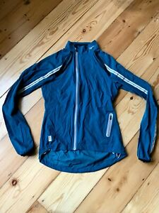 Rapha Women's Wind Jacket Marine Blue Size XS