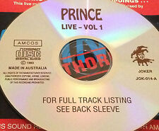 Prince Live Vol. 1 Aus CD Diamonds & Pearls Kiss Nothing Compares 2 U Cream 1999