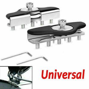 1Pair Universal Hood Mounting Bracket Led Work light Bars Clamp Holder For Truck