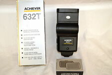 Achiever 632T Auto Thyristor Bounce Flash with Box & Lenses in Exc. Tested (#57)