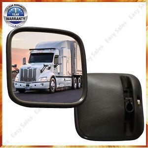 2 x Universal LKW Außenspiegel 18 x 18 cm Paar Seiten Spiegel Manitou Radlader