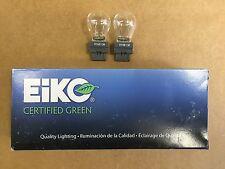 Set of 10: Genuine Eiko Certified Green 3156 Taillight Brake Light Bulb USA SHIP