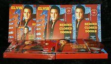 """Elvis Presley - Behind Closed Doors - 10"""" Boxset - RED Vinyl Ed - New & Sealed"""