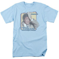Columbo TV Show TRIED TO BE INCONSPICUOUS Licensed Adult T-Shirt All Sizes
