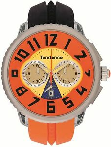 Tendence - Crazy Unisex Quartz Watch with Multicolour Dial Analogue Display and