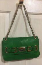 MICHAEL KORS KELLY GREEN HAMILTON Small Flap Leather Shoulder Bag $268