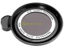 Polaroid 4-S Light reducer per pellicola 3000 outdoor (4 stops) con custodia.