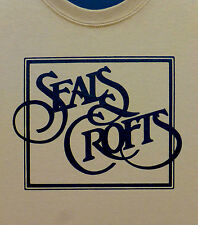 Seals and Crofts t shirt NEW Jim and Dash on back S, M, L, XL Diamond Hits