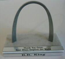 BB King OWNED St Louis Arch Griot  Award JULIEN'S Estate Auction
