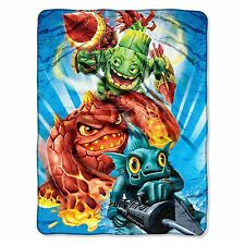 SkyLanders Sky Landers gun style Plush SOFT blanket throw NEW