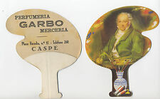 "CASPE. Pay Pay de cartón de tipo PUBLICITARIO ""Autorretrato"". Goya."