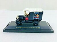 Coca Cola 1928 Amsterdam Olympics Limited Edition Die Cast Delivery Truck