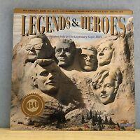 Verschiedenen Legends & Heroes 1991 UK Triple Vinyl LP Exzellenter Zustand Chuck