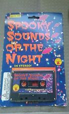 Spooky Sounds Of The Night Cassette Tape - Halloween Horror Sounds New & Sealed