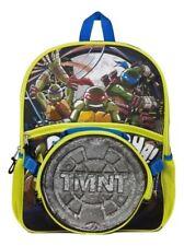 "Teenage Mutant Ninja Turtles 16"" Full Sz School Backpack w Detachable Lunch Tote"