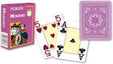 Modiano Voll Plastik Romme Karten 52er Blatt mit 3 Joker Lila Purple Poker