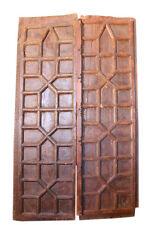 Original indische Türpanels aus alten Türen ca. 120Jahre alt