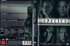 SPECIES 1 2 3 4 --- die komplette Filmreihe --- 4-Disc Collection Box --- FSK 18