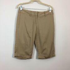 The Limited Shorts Women Size 8 Tan Knee Length Bermuda