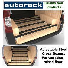 Van False Floor 6 Steel Cross Beams van roof rack alternative Transit Custom Van