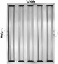 6 Pack Durable Commercial Kitchen Stainless Steel Grease Hood Exhaust Filters