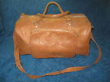VTG Leather GYM/ DUFFLE/ TRAVEL BAG Made in Paraguay...Puchased New..NEVER USED!