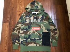 New The North Face Black Label Shelter Camo Hoodie Sweatshirt Size L Asia US M