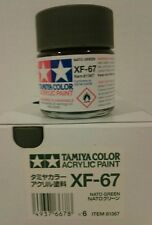 Tamiya acrylic paint XF-67 NATO Green 23ml