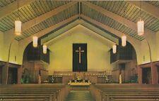 "*Florida Postcard-""Sanctuary...Community Presbyterian Church"" *Deerfield-"