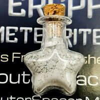 Authentic Moon Dust from Cutting Lunar Meteorites; 99.5% Pure - >1g in Star Vial