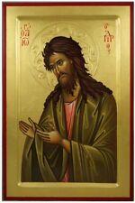 Saint John the Baptist MADE TO ORDER Orthodox Byzantine Icon on Wood