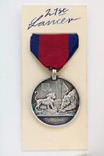 BRITISH HEIC NATIVE MILITARY OFFICERS BURMA SILVER MEDAL RANGOON IRRAWADDY 1824