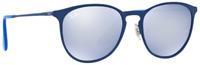 Ray-Ban Damen Herren Sonnenbrille RB3539 9022/1U 54mm blau verspiegelt 10 13