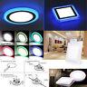 Bicolor 3-Mode LED Recessed Ceiling Panel Down Light panneau de plafond encastré