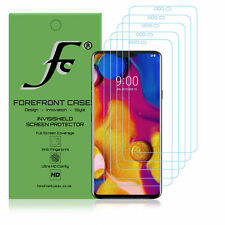 Lg V40 ThinQ Hydrogel Screen Protector [5 Pack] Guard Cover Film Hd Clear Thin