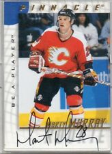 1998 PINNACLE HOCKEY MARTY MURRAY AUTO