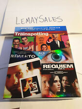 Trainspotting / Memento / Requiem for a Dream (Blu-ray Disc, 3-Disc Set Premium)