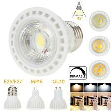 GU10 E27  GU5.3 MR16 15W LED COB Dimmable Spotlight Bulb