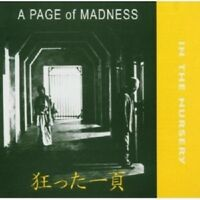 In The Nursery - A Page Of Madness  CD NEW!