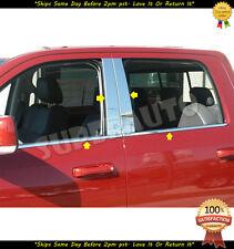 Combo Window Sill+Pillar Posts Trim For 2009-17 Dodge Ram 1500 2500 14 15 16