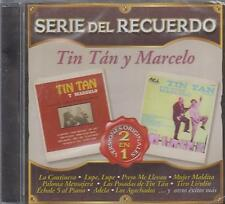 CD - Tin Tan Y Marcelo NEW Serie Del Recuerdo 20 Tracks - FAST SHIPPING !