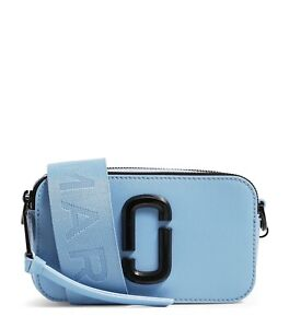 MARC JACOBS Snapshot Small Camera Bag Blue Monday 100% New With+ Tags